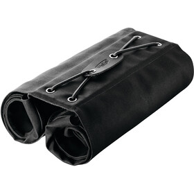 Brooks Brick Lane Roll-Up Panniers black/black